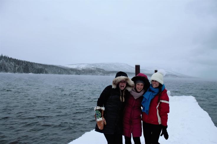 Freezing at Lake McDonald