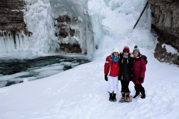 Johnston Canyon Falls, Canada