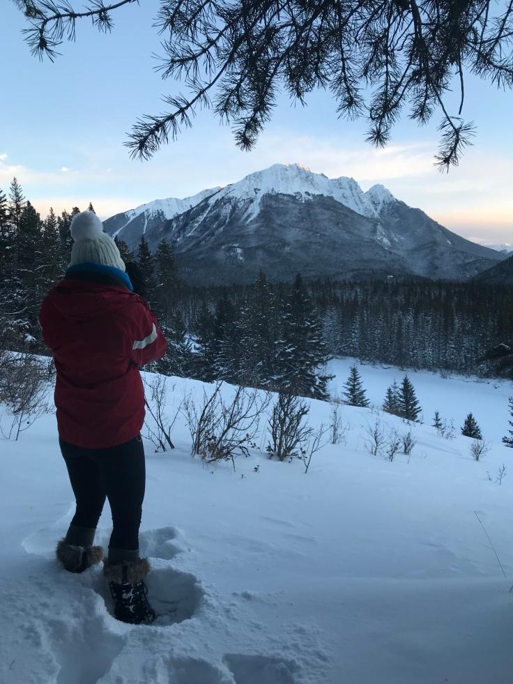 Banff Mountain views